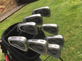 Golf clubs - left hand Wilson Ultra Golf Irons