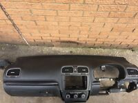 Golf Mk6 dash with airbag from 2010 other parts avalible