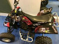 Yamaha 660 Raptor 2005 PLG registered, on road quad