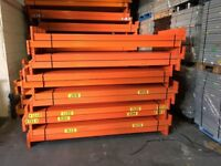 JOB LOT systemas pallet racking as new! ( pallet racking , industrial storage )