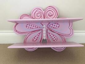 Butterfly shelf