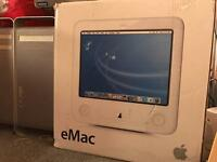 Boxed EMac Retro Mac computer with original packaging 200 ono
