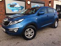 KIA SPORTAGE 1.6 GDi 1 SUV 5dr Petrol Manual 2WD (149 g/km, 133 bhp) (blue) 2012