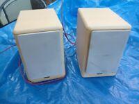 Speakers, JVC, pair.