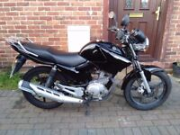 2012 Yamaha YBR 125 motorcycle, 9 months MOT, very good condition, low miles, service history,,,,