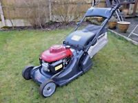 "Honda HRX476 QX 19"" Self Propelled Roller Lawnmower. 2011 Serviced"