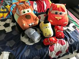 Big Lightening McQueen teddies