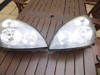 Renault clio pair of Headlights
