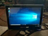 Advent touchscreen all in one Intel dual core 4gb ram 500gb hhd laptop