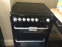 New Electric Cooker Black, Bargin! Hotpoint Hare60k