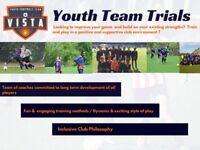 Youth Football Club VISTA Youth Team Trials