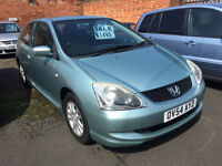 Honda Civic 1.7 CTDi SE - 2004, 97K, 6 Services to 91K, 2 Keys, MOT DEC, Drives Lovley, Diesel!