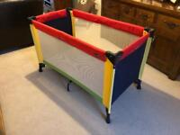Brevi travel cot plus free extra mattress