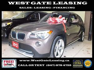 2012 BMW X1 | SUNROOF | BLUETOOTH | 0% INTEREST RATE |