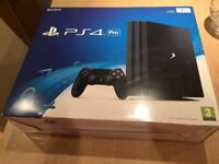 Brand new Sony PS4 pro 1tb with call of duty game. CAN DELIVER