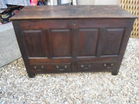 Antique Mule Chest- Blanket Chest