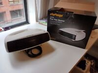Challenge 3kW Flat Fan Heater (pick up only from City Centre)