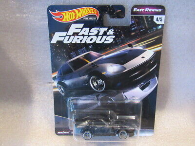 HOT WHEELS PREMIUM FAST AND FURIOUS - NISSAN FAIRLADY Z FAST REWIND - NISSAN