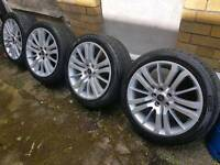 "20""alloy wheels range rover sport"
