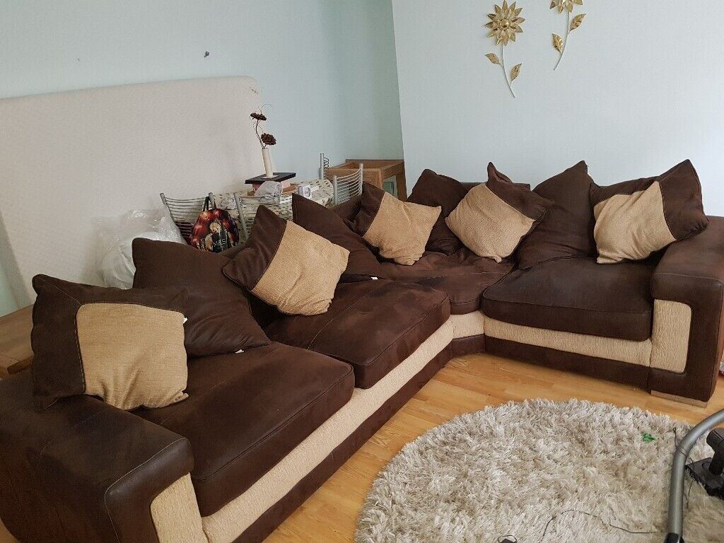 Stupendous Large Corner Sofa For Sale In Plymouth Devon Gumtree Ocoug Best Dining Table And Chair Ideas Images Ocougorg