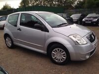 Citroen C2 1.1 i Furio 3dr, HPI CLEAR, LOW MILEAGE, GOOD CONDITION, MUST SEE, P/X WELCOME