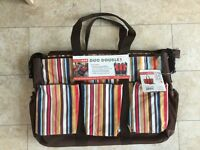SKIP HOP DOUBLE DUO DELUXE CHANGE BAG (UNUSED)