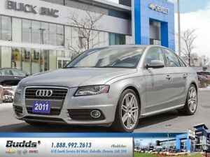 2011 Audi A4 2.0T NICE CAR SAFETY AND CERTIFIED S LINE