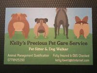 Kelly's Precious Pet Care Service