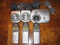 Panasonic KX- TG7321E Triple Cordless phone set