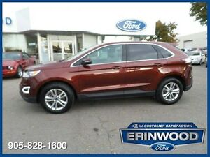 2015 Ford Edge SEL - ONE OWNER CPO 24M@1.9%/12MO/20,000KM EXT WA