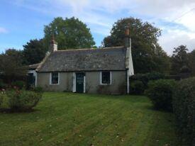 3 bed Cottage for Sale, large gardens Banff