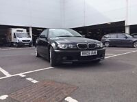 BMW 325Ci M Sport. Black, 2-door. 65k Miles. Excellent Condition! New MOT!