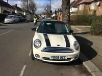 MINI COOPER 2008 CREAM MANUAL EXCELLENT RUNNER HPI CLEAR!!!