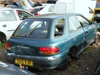 we buy scrap high performance cars: subarus, evos, ect...