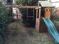 Wooden Playground / Playhouse