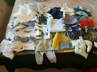 Boys baby clothes bundle