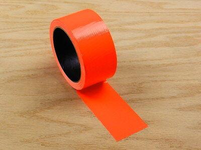 2 Orange Colored Duct Tape Colors Waterproof Uv Tear Resistant 15 Yd 45 Roll