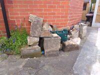 Yorkshire stone blocks - various sizes