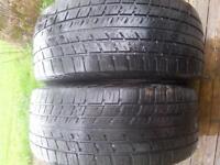 2- 215/50/16 summer tires