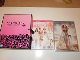 A Genuine Sex & The City Box Set Complete & Movies 1 & 2 Bundle Collection