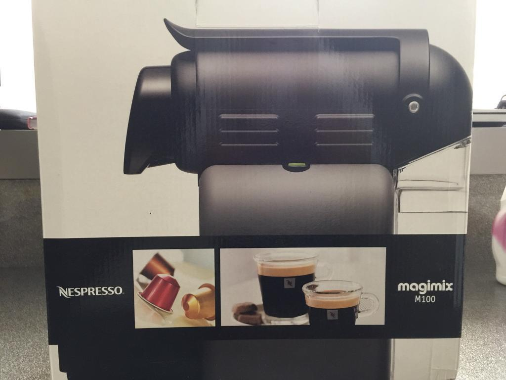 Nespresso M100 coffee machine