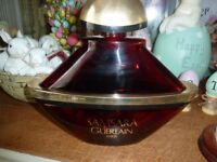 "Samsara perfume bottle huge display perfume bottle. 11 inches high , 12 "" wide"