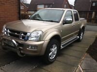 Isuzu Rodeo Denver Td Intrtcooler no vat mot august NO VAT