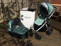 Uppababy travel system in excellent condition