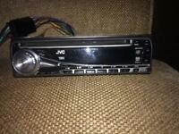 Jvc wma mp3 car radio CD player