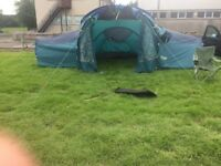 9 man tent and equipment for sale