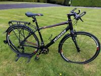 STUNNING TOP QUALITY LADIES SPECIALIZED VITA COMP HYBRID BIKE WITH EXTRAS COST £900 FULLY SERVICED