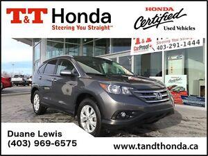 2013 Honda CR-V Touring *AWD, No Accidents, Local Trade