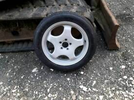 Bmw x 5 spare wheel