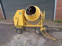 cement mixer benford site mixer